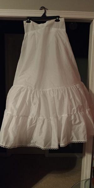 Alpine White Size 14 wedding Dress slip (New) for Sale in Atlanta, GA