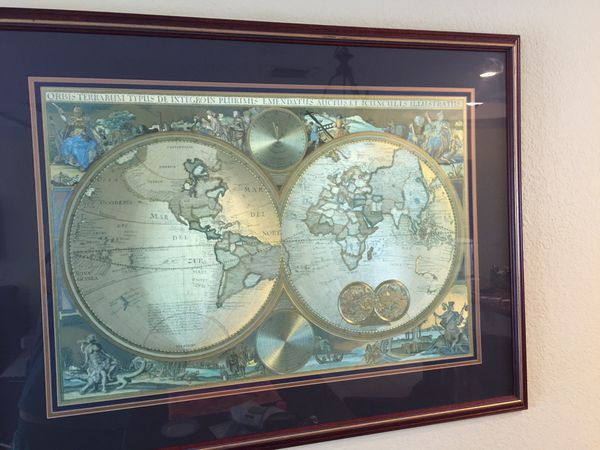 Bombay company double hemisphere foil old world map household in 30000 gumiabroncs Images
