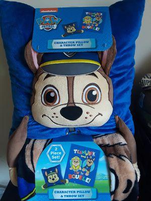 Kids pillow and throw almoada y cobijita para ninos de diferentes estilos nuevos brand new for Sale in Fort Belvoir, VA