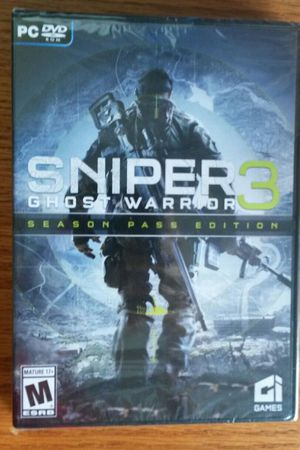Sniper 3: Ghost Warrior PC Game for Sale in Chicago, IL