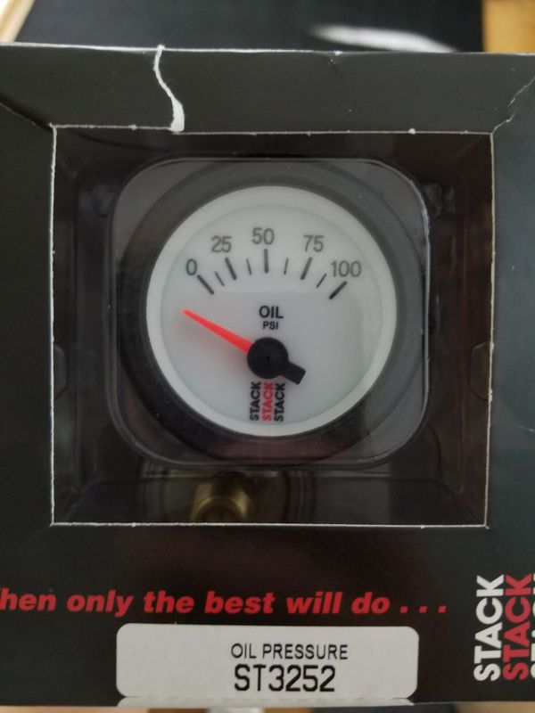 Stack electric oil pressure gauge for Sale in Seattle, WA - OfferUp