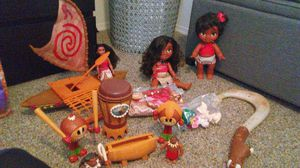 Moana's Collection Toys for Sale in Sanford, FL