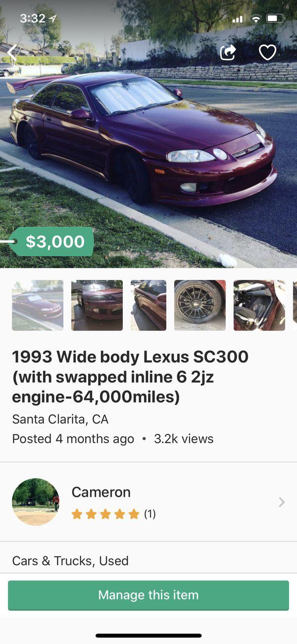 sc300 manual transmission swap