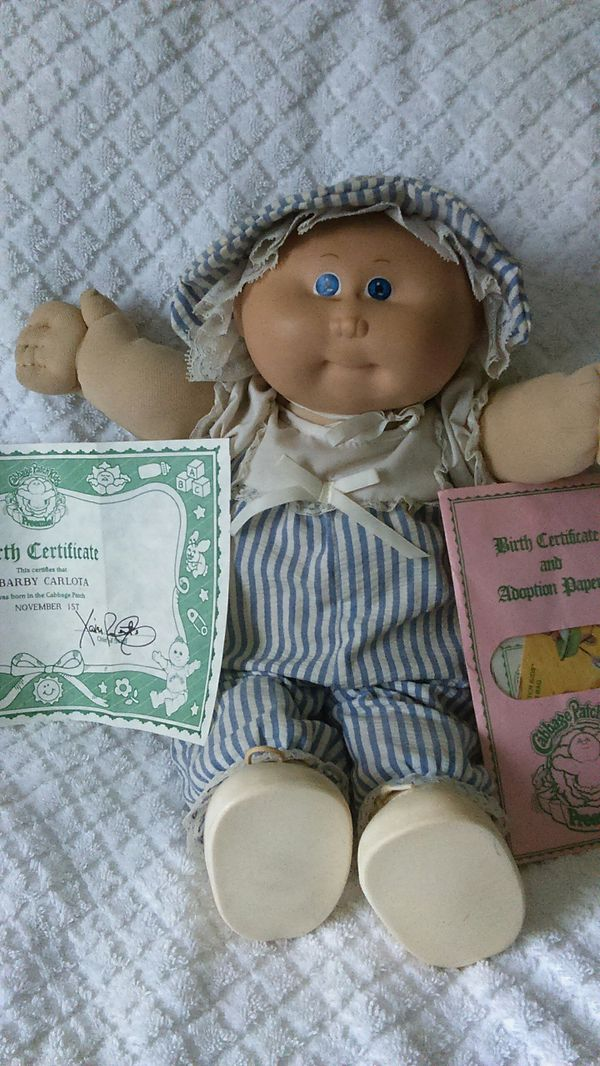 Vintage Preemie Cabbage Patch Kid 1982 Collectibles In Tacoma Wa