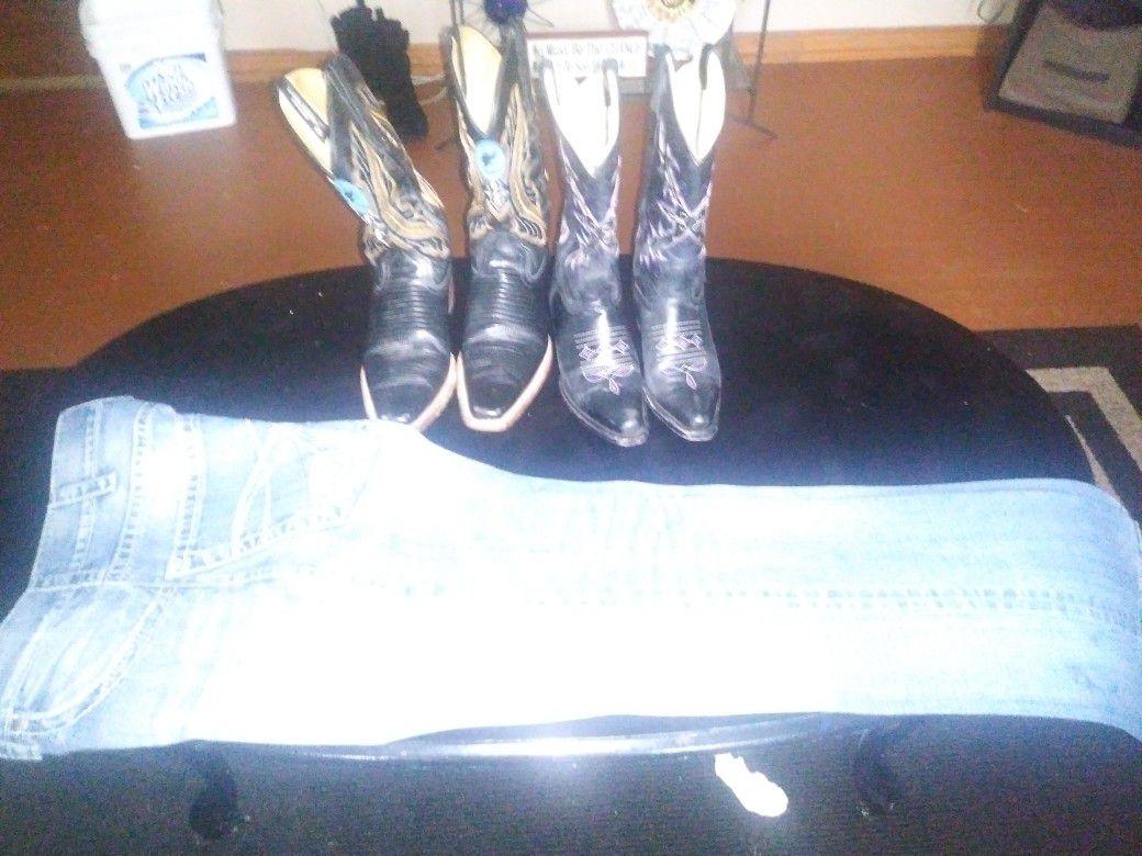 Pantaloons y por las boots
