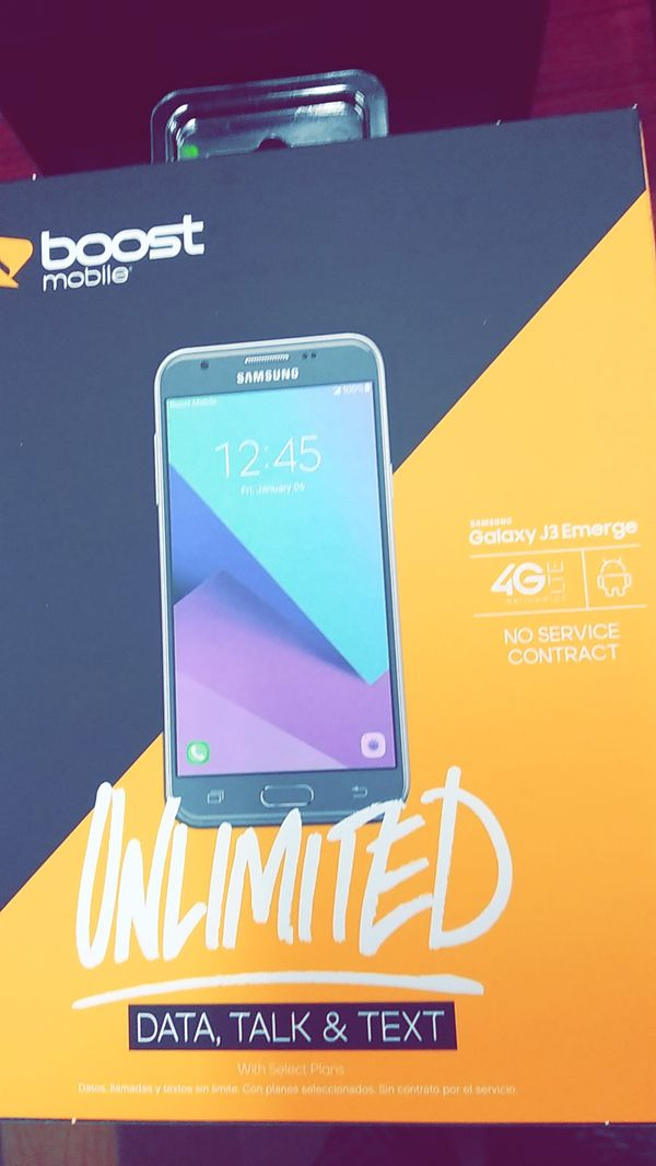 Samsung Galaxy J3 Emerge Boost Mobile for Sale in Sacramento, CA - OfferUp