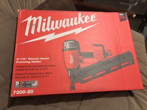 Milwauke Gun Nail Framing Nailer for Sale in Wylie, TX