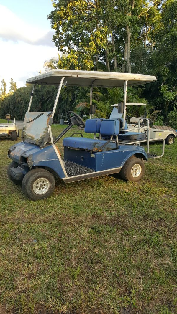 Club Car Golf Cart 4 Seater For Sale In Sunrise Fl Offerup