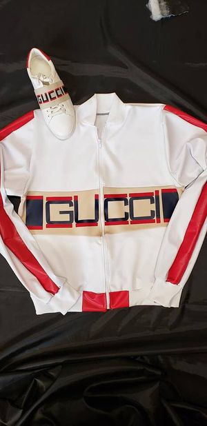 d217006b3b5baf Custom Made Gucci Jacket And Real Gucci Shoes For 325 for Sale in Chicago