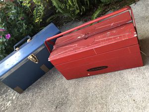 Metal tool boxes (tools not included) for Sale in Orlando, FL