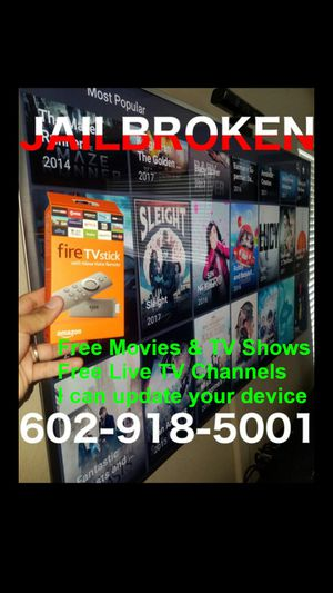 Cash or trade amazon fire tv stick call or text for more info for Sale in Tempe, AZ