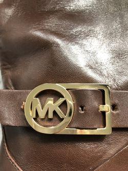 Authentic Michael kors brown boots woman's size 8 Thumbnail