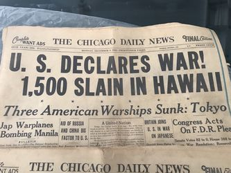3 Chicago daily news papers Thumbnail