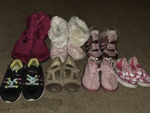 Boots and Shoes for Girl, Size 7 Toddler for Sale in Burien, WA