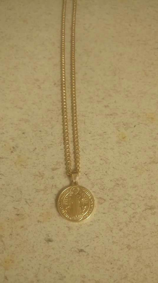 18kgf chain with pendant