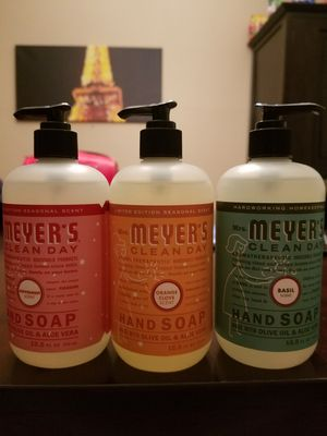 NEW Mrs. Meyer soaps for Sale in Bethesda, MD