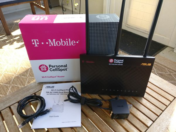 ASUS T-mobile WiFi Router and Personal CellSpot for Sale in Jacksonville,  FL - OfferUp