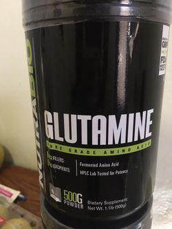 glutamine amino acids Thumbnail