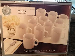 Set of 12 coffee mug, never used, still in the box for Sale in Rockville, MD