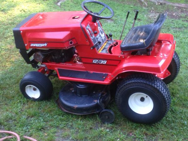 Vintage Dyna Mark 12 39 Riding Mower For Sale In Monroe