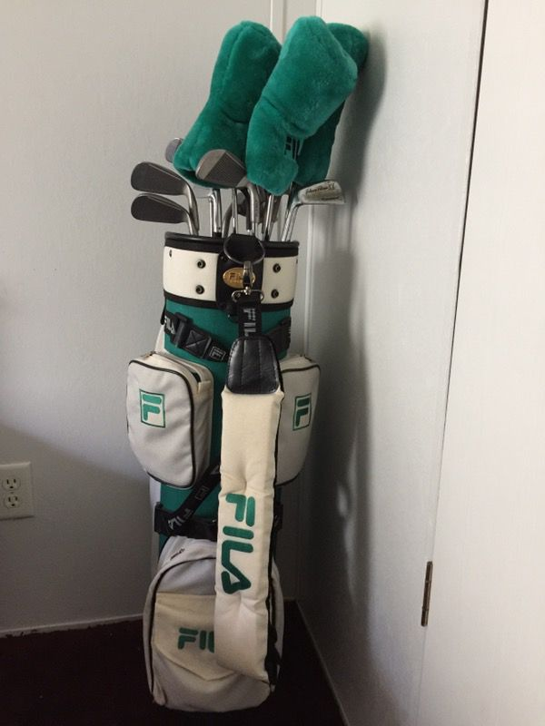 f349ed74c160 Never used Fila golf clubs ( left hand clubs) for Sale in Harleton ...