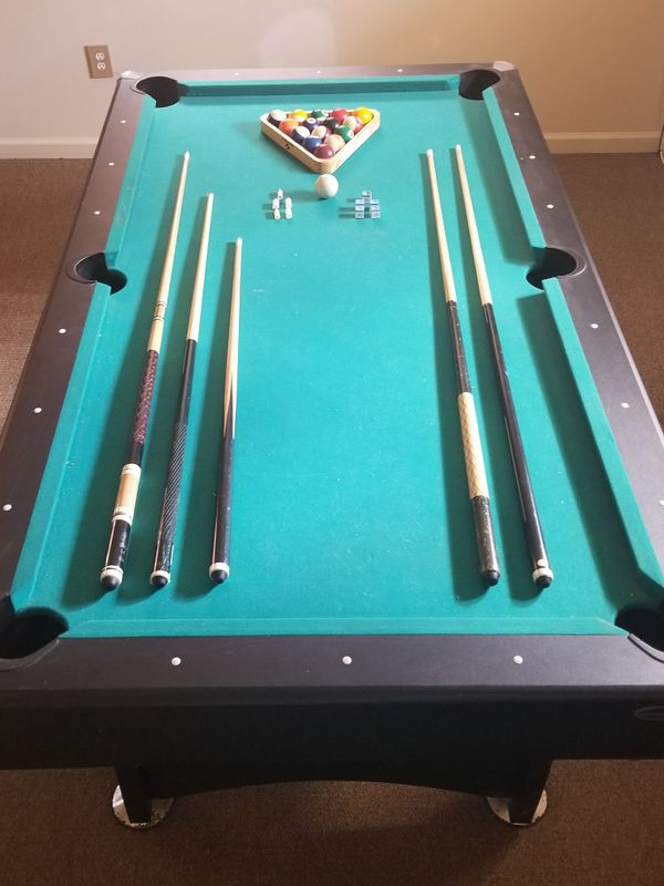 Sportcraft Billiard Table Must Disassemble And Pick Up For Sale In - Pool table pick up