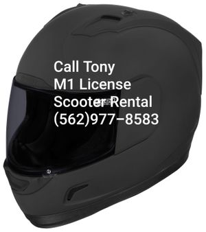 Dmv Scooter Rental For M1 License 65 00 For Sale In Los Alamitos