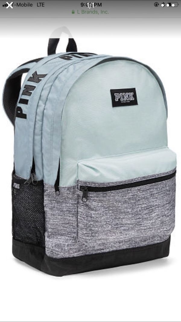 VS pink mint backpack brand new for Sale in Baldwin Park, CA - OfferUp