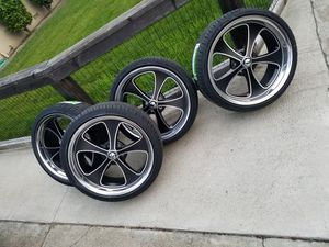 """20"""" RIDLER WHEELS FOR ALL OLD SCHOOL CARS for Sale in San Francisco, CA"""