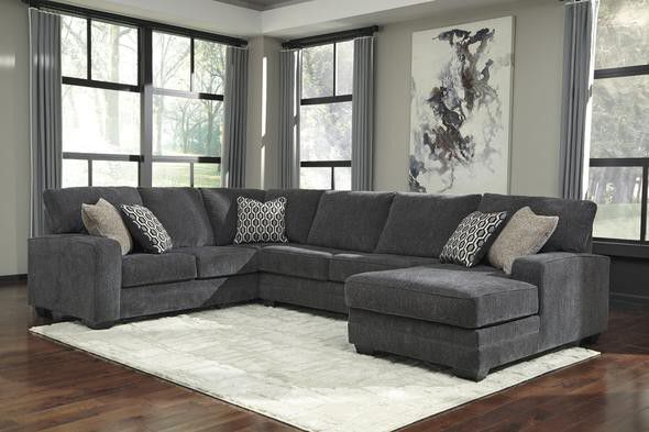 Tracling Slate RAF Sectional💥💲39 DOWN 🎀 IN STOCK🎀