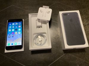 Apple iPhone 7 Plus - 128GB - Jet Black (AT&T) A1784 (GSM) for Sale in Washington, DC