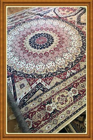 Brand new luxury soft traditional silk rug size 8x12 nice Carpeta for Sale in Fairfax Station, VA