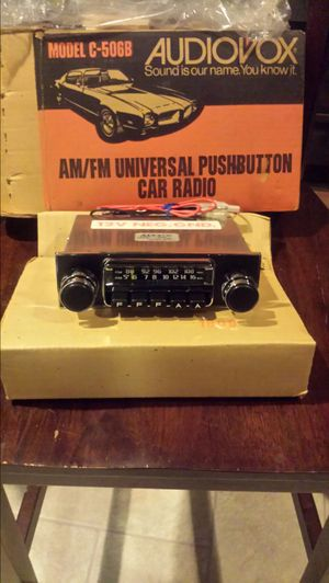 Classic car radio for Sale in Germantown, MD