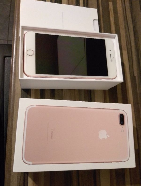 Rose Gold Iphone 7 Plus Sprint Boost Mobile For Sale In Lake Charles La Offerup