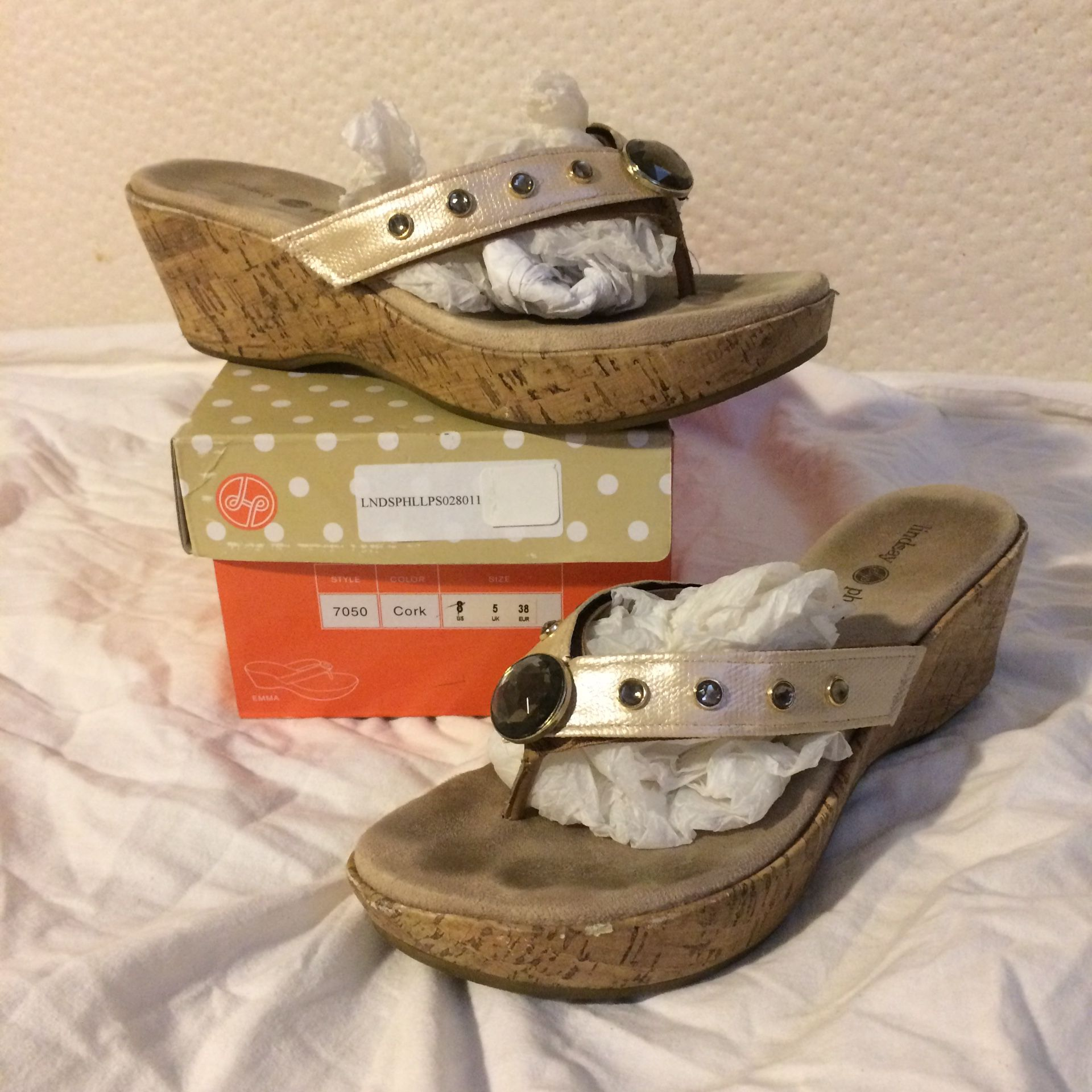 Lindsay Phillips Sandals - 8 (6 different straps)