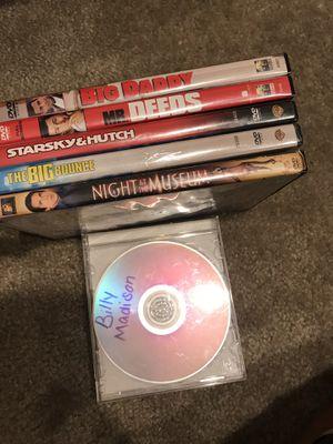 6 COMEDY Adam Sandler Ben Stiller Owen Wilson Movie DVD Bundle for Sale in Palmdale, CA