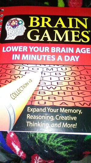 Brain Games Lower your brain age in minutes a day for Sale in St Louis, MO