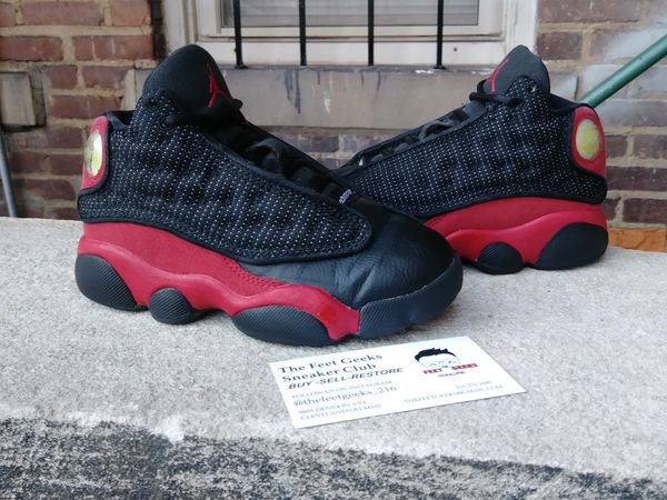 8515ced5d7984b AIR JORDAN 13 RETRO BRED KIDS TODDLER SHOES SIZE 11 C EXCELLENT USED  CONDITION  30