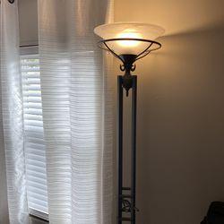 sturdy metal floor lamp Thumbnail