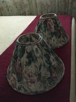 3 Lamp with shades for Sale in Boydton, VA