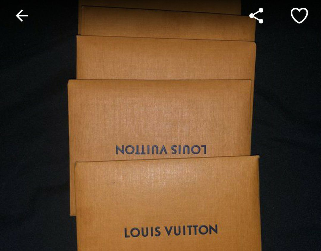 Louis Vuitton set of 4 eyeglass cleaning rags