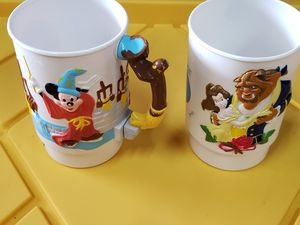 2 Classic Disney on Ice cups for Sale in Tacoma, WA
