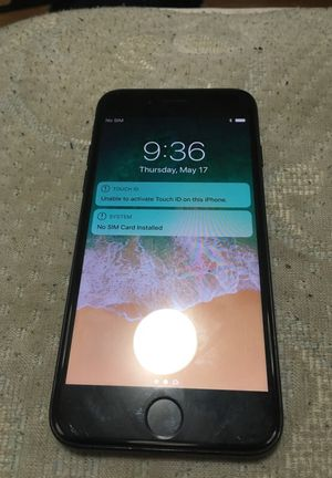 iPhone 7 Black main bottom needs to reset for Sale in Washington, DC