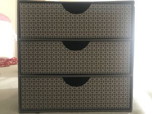 SMALL drawers/organizers for Sale in Bailey's Crossroads, VA