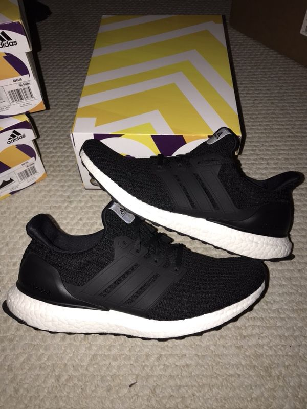 Adidas Ultra Boost 4.0 black men's size 9.5 BB6166 for Sale in Orange, CA OfferUp