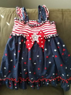 4th of July toddler clothes Thumbnail