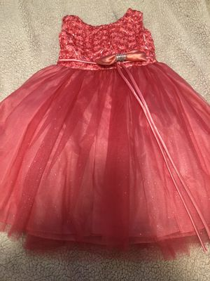 0fe901e6dbc3 Peach orange dress size 4t  10 no rips or stains pickup only for Sale in San