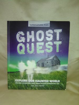 Photo Kids Ghost Quest Book. Learn How to be a Ghost Hunter