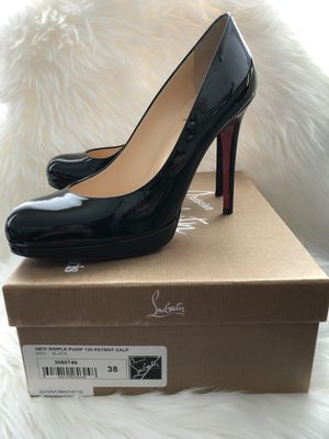 Christian Louboutin New Simple 120mm Pumps Size 38 (US 8) for Sale in Rockville, MD