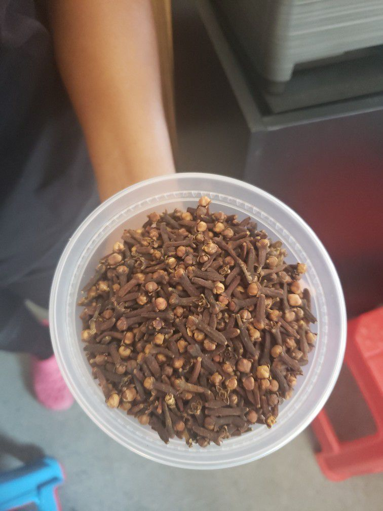 real Haitian clove and other spice.